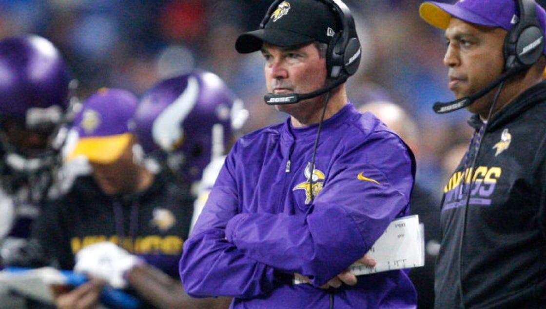 Vikings coach to miss Thursday game vs. Cowboys