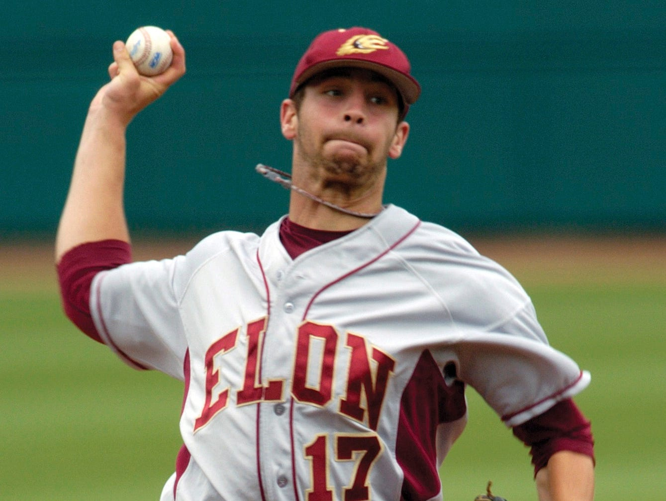 Owen alum Steven Hensley pitched in college for Elon.