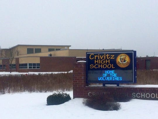 Crivitz High School is in its second school year of requiring random drug testing for students who participate in extracurricular activities and/or have parking privileges on school grounds.
