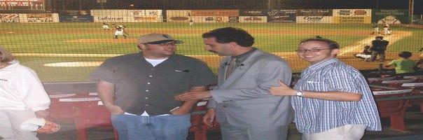 Reds' Jason Bourgeois had met Will Ferrell, Borat before