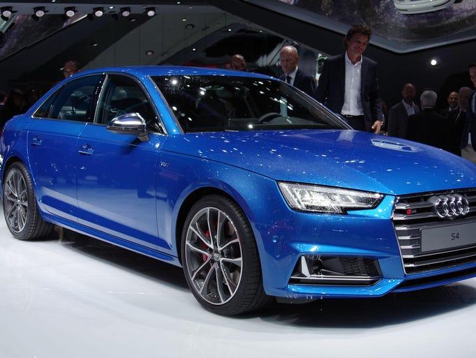 Audi A4 At The Frankfurt Motor Show