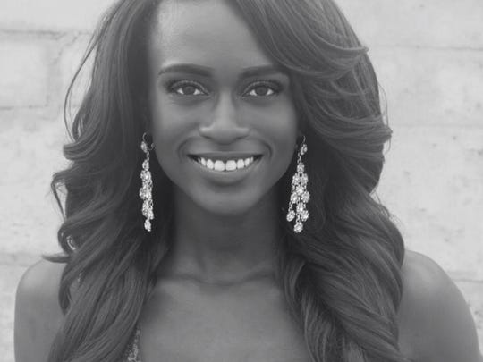 Miss Gulf Coast USA Sylvie Michel is competing in the Miss Florida USA pageant this weekend.