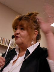 South Amboy Business Administrator Camille Tooker.