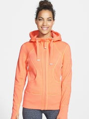 If you are buying an orange hoodie for someone who actually wants one, check these out. Orange hoodie by Zella, $68 at www.nordstrom.com
