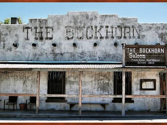 The Buckhorn Saloon, at 32 Main St., in Pinos Altos