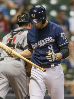 Ryan Braun and the Brewers have been struggling during the second half of the season.