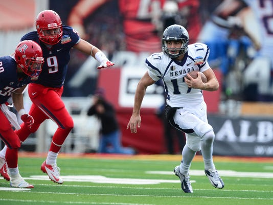 NCAA Football: New Mexico Bowl-Nevada vs Arizona