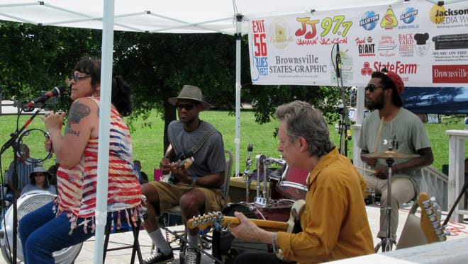 Music fans enjoyed the Exit 56 Blues Fest on Sunday in Haywood County.
