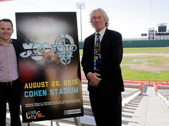 Bryan Crowe, General Manager of Destination EL Paso along with Brad Dubow, General Manager of Townsquare Media El Paso, announced that recording artists, YES and Toto, will make a stop in EL Paso as part of their summer North American tour on August 28 at Cohen Stadium.