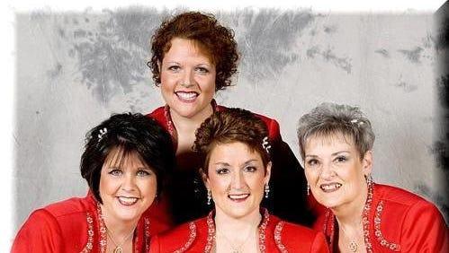Charlene Sudore, Amy DePerna, Sue Melvin and Kathy Dickson are Fusion.
