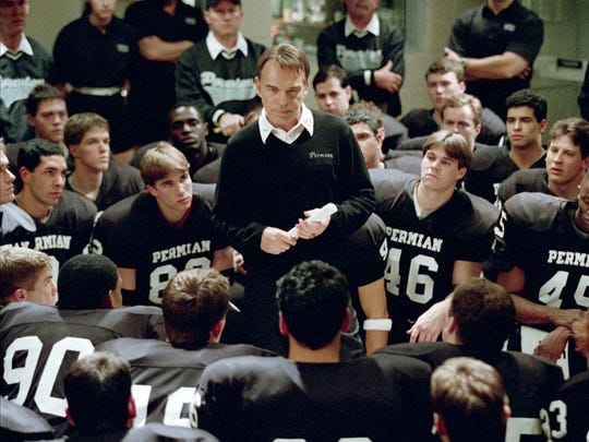 """Friday Night Lights"" stars Billy Bob Thornton as a west Texas high school coach in a football-obsessed town."