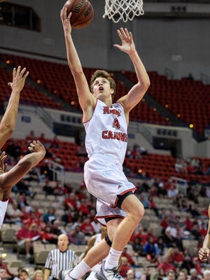 UL senior guard Steven Wronkoski (4) will get at least one extra game before closing out his college career with the Ragin' Cajuns accepting a berth in the CIT.
