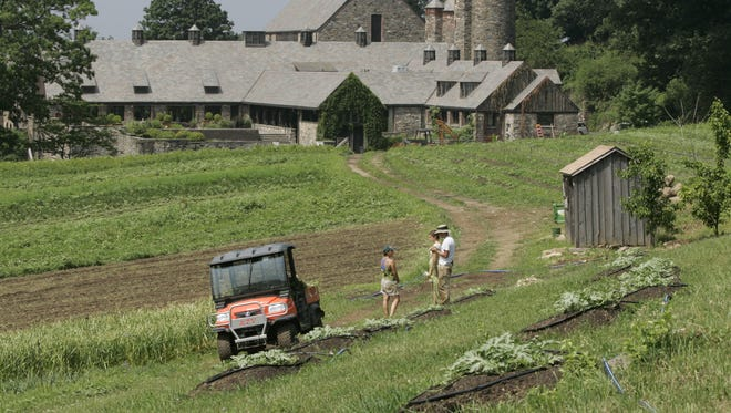 A proposed land swap would preserve an open meadow near the Stone Barns Center for Food and Agriculture.