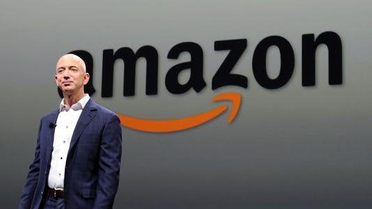 Jeff Bezos, CEO of  Amazon.