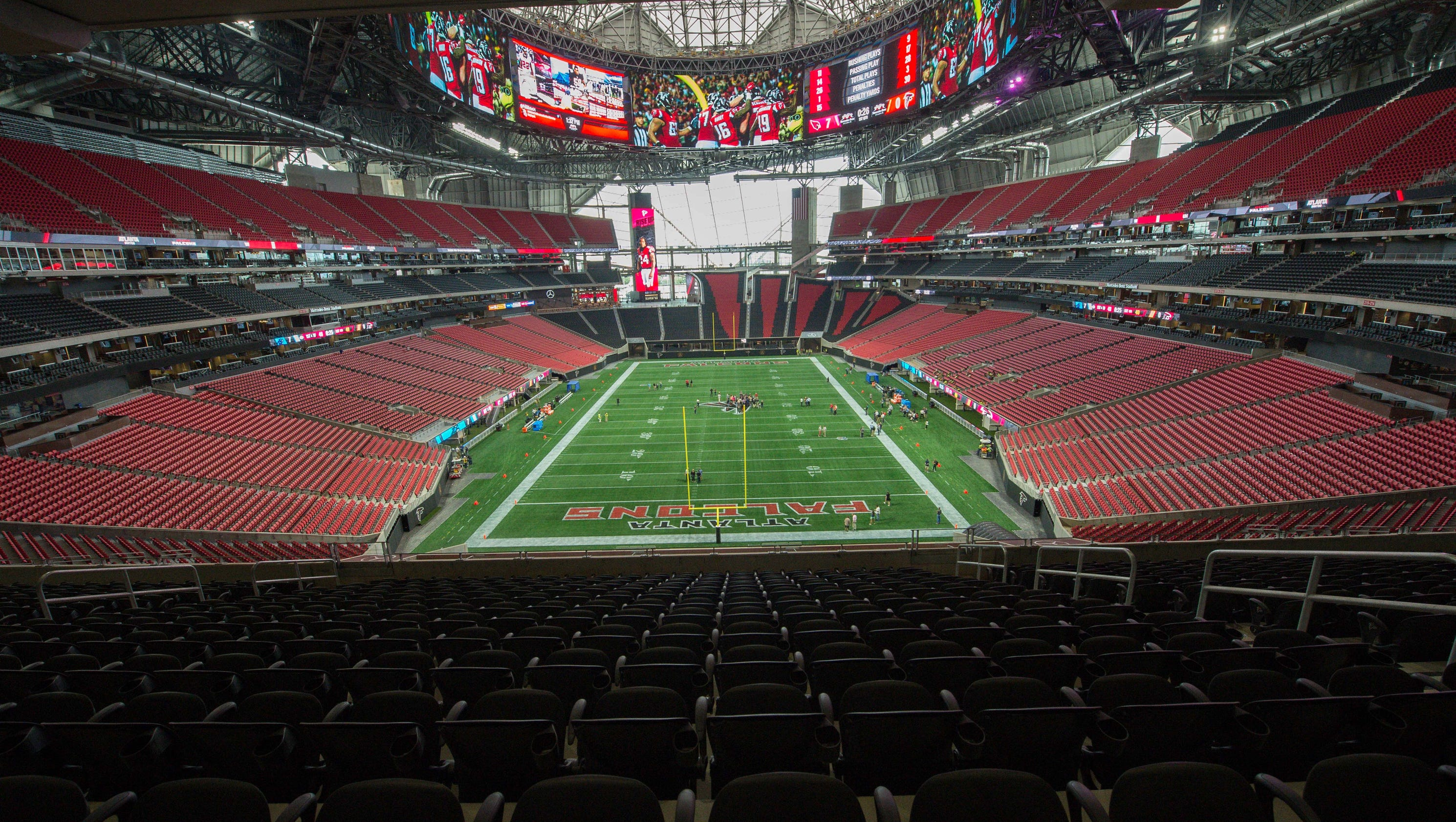Atlanta Falcons New Stadium Mercedes Benz Stadium
