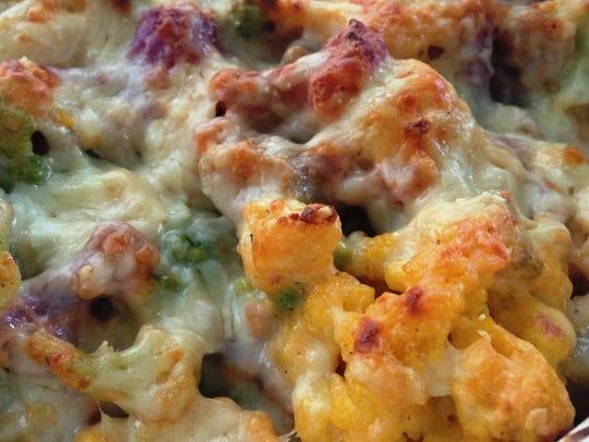 """Cauliflower replaces macaroni in Cauliflower """"Mac"""""""