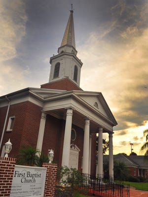 First Baptist Church in Titusville, Fla., is one of the churches across the nation that are participating in a program to get more people to return to a worship service this Sunday.