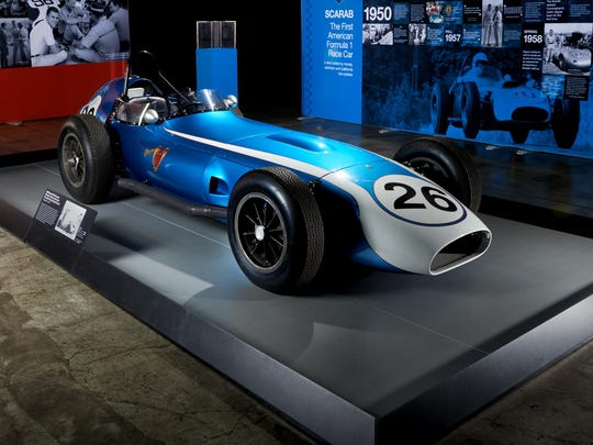 World of Speed is launching a new exhibit featuring The Scarab, the very first American-made Formula One race car, a rare car with a star-studded history, through April 2.