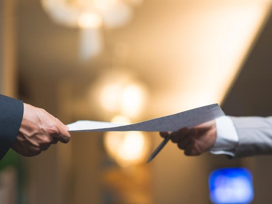 Passing business document