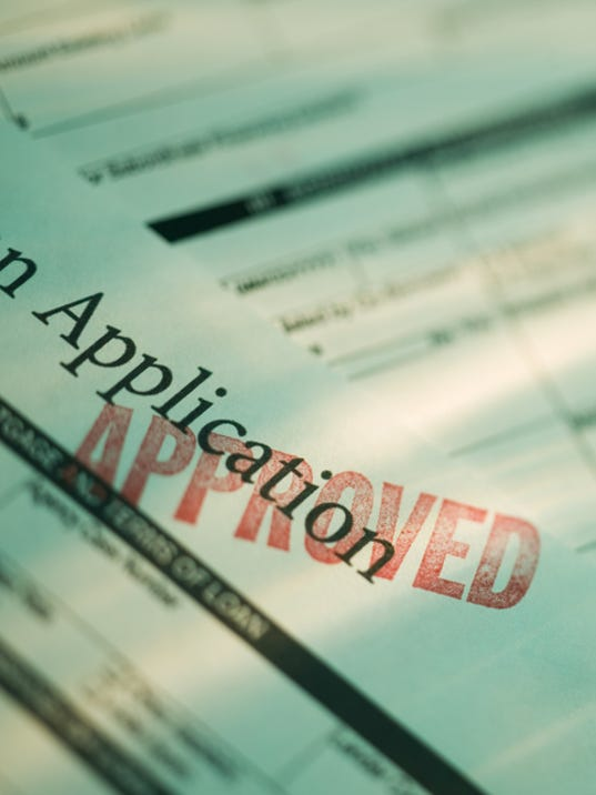 Approved loan application