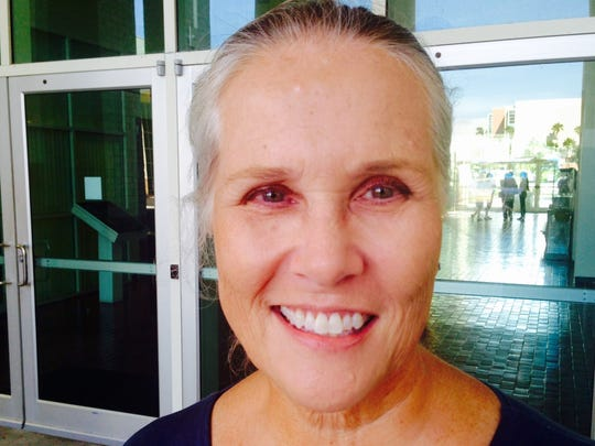 Brevard County commissioners took no action on Viera resident Pam LaSalle's request to prohibit their use of electronic and communication devices during commission meetings.