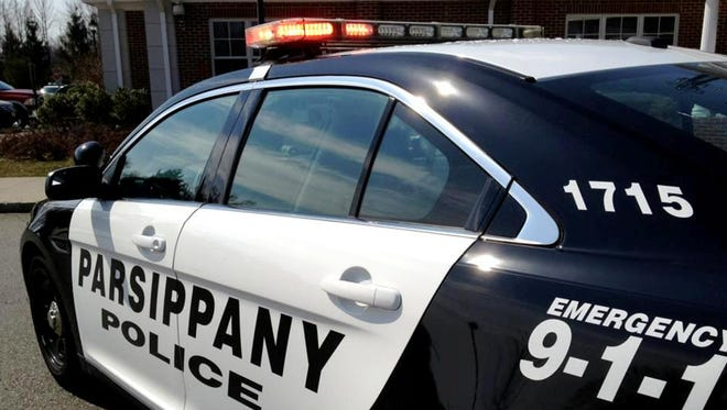 Parsippany Police Department police vehicle.