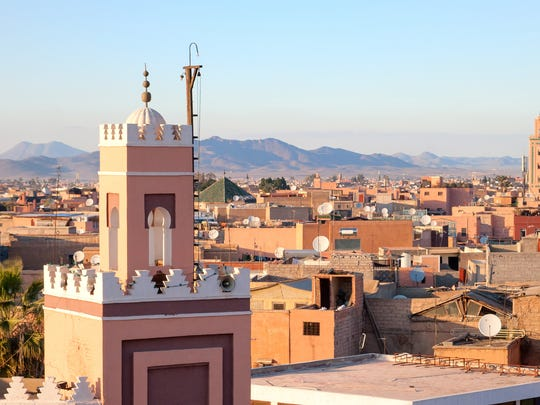 Marrakech in Morocco ranks among the cities chef Clint Jolly is living and working in during his year overseas.