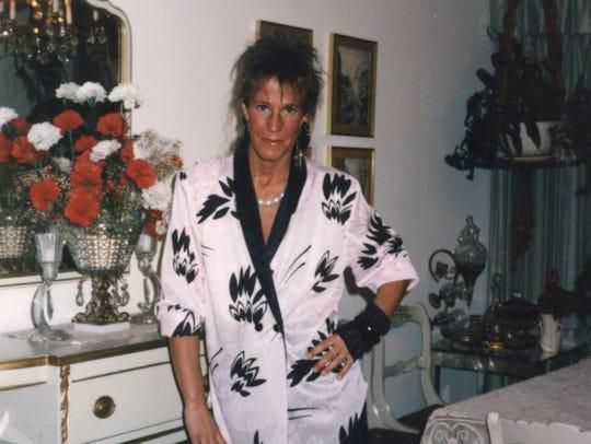 Debbie Lewis in 1987