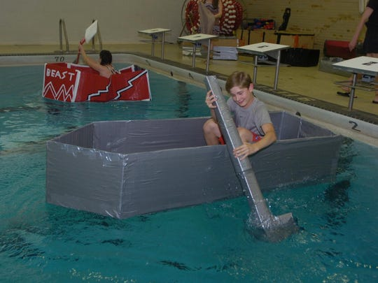 13 BHM Duct Tape Boat