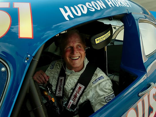 Seen here in 2006, Paul Newman smiles at Lowe's Motor