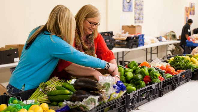 Second Harvest Food Bank of Middle Tennessee rescues more than 10 million pounds of fresh nutritious food a year from grocery partners and distributes it to those in need.