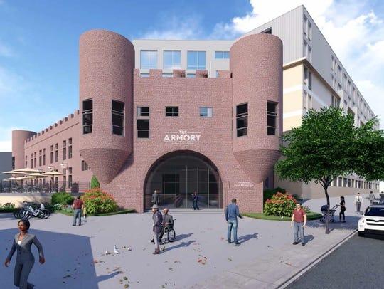 Developer Charles Florio's development plan would preserve