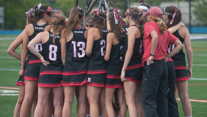 Varsity Girls Lacrosse: Haddonfield vs Bernards