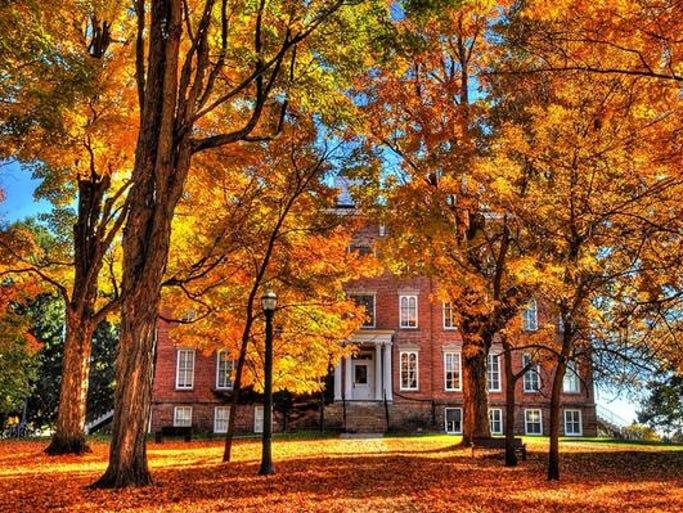 Saint Lawrence University in Canton, New York.