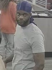 Police are looking for this man, suspected of passing