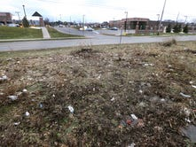 Why are these Greece lots across from Northgate Plaza so messy?