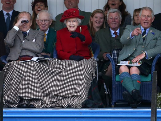 One of the queen's favorite events during her Balmoral