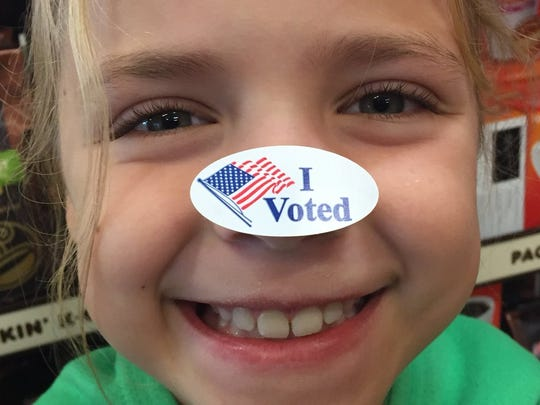 """When you vote by mail you don't get the fun """"I voted"""" sticker, but you do get the good feeling of knowing you did your civic duty - safely."""