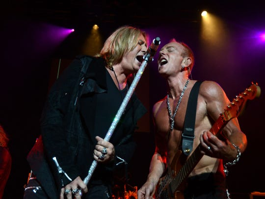 Def Leppard's rescheduled tour date is May 10 at CneturyLink