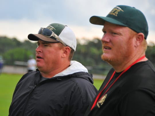Kevin Mays (left) and Derek Smith worked together at Viera and Bayside