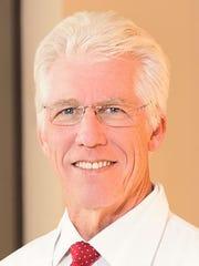 Dr. Richard Lange, president ofTexas Tech University Health Sciences Center El Paso.