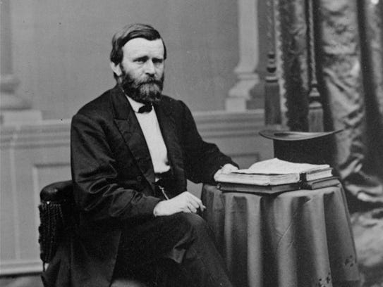 U.S. President Ulysses S. Grant in an undated photo.