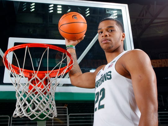 Michigan State's Miles Bridges gives the Spartans a