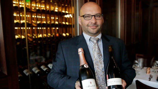 Jason Wedner, a sommelier and general manager of Rare Steakhouse suggests Schramsberg Mirabelle Brut Rosé (left) and Sokol-Blosser Dundee Hills Pinot Noir as splurge wines for Thanksgiving.