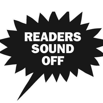 Readers sound off