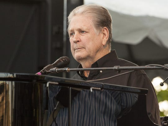 "Brian Wilson performs the classic Beach Boys album ""Pet Sounds"" on July 16 at the Pitchfork Music Festival in Chicago."