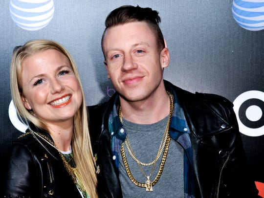 Macklemore and Tricia Davis.