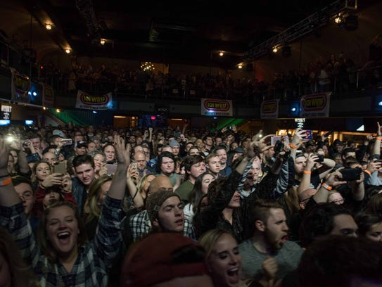 Greta Van Fleet played the first of two sold out shows