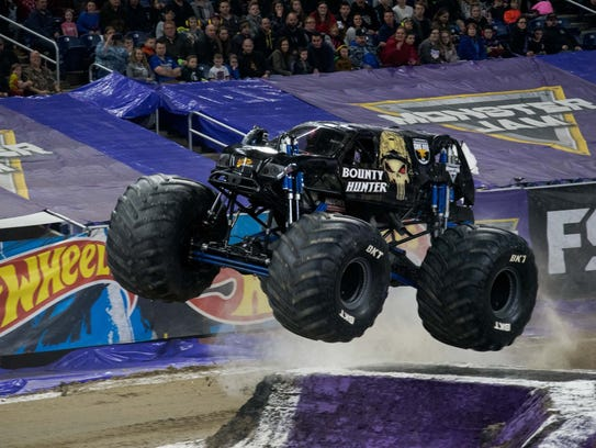 Monster Jam will roar into Toledo's Huntington Center for four shows Friday through Sunday.