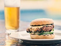 PATIO SPECIAL Pub Burger & Beer $9.99